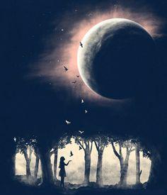 Meu ritual da lua cheia esse mês...