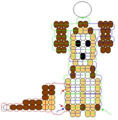 Dog Pony Bead Pattern