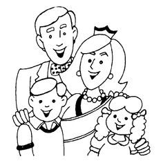 Printable mothers day with happy family coloring page - Printable Coloring Pages For Kids Earth Day Coloring Pages, Mothers Day Coloring Pages, Family Coloring Pages, Tree Coloring Page, Online Coloring Pages, Cool Coloring Pages, Printable Coloring Pages, Coloring Books, Free Coloring