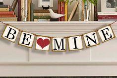 Être Mine Valentine bannière  Happy Valentine par BannersLoft