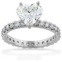 *~*~*~*~*Amazing Heart Shape Diamond Ring *~*~*~*~*