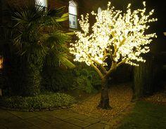 LED Tree 3m Warm White www.bubblespace.uk.com