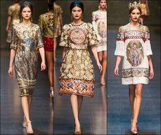 Dolce and Gabbana Fall Winter 2013 Milan Fashion Week 26