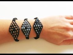 How to make Evil Eye Bracelet / Φτιάξτε Βραχιόλι Μάτι με Κρύσταλλα - YouTube