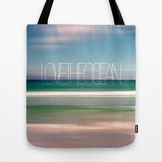LOVE THE OCEAN I Tote Bag by Pia Schneider [atelier COLOUR-VISION] - $22.00 #art #photography #abstraction #photocoloring #blue #turquoise white #sand #sea #ocean #beach #nature #landscape #surreal #abstract #piaschneider #ateliercolourvision #mediteran #greece #cretan #crete #summer #europe #waves #island #clouds #sky #typography #bag #totebag #beachbag #shoppingbag #fashion #women #girls #gift