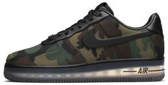 Nike Air Force 1 XXX Camo Low Max    You don't have to be a sneakerhead to appreciate Nike Air Force 1s. Originally introduced in 1982, AF1s were the first kicks to use the Nike Air technology, and throughout their 30 year stint as popular sneakers they've ended up on the feet of everyone from Jerry Stackhouse to the Commander in Chief. Nike pulled out all the stops for the 30 year anniversary edition of the shoe (hence the XXX).