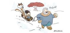 Calvin and Hobbes as Game of Thrones
