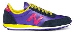 New Balance Purple Carnival 410 Trainers - Purple on shopstyle.co.uk