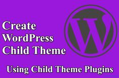 Best Child Theme WordPress Plugin 2016  http://www.frip.in/child-theme-wordpress-plugin/