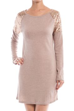 Sequin Detail Dress – Sweater Weather Co.