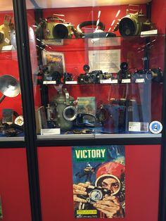 The Historical Diving Society Italia Ravenna, Victorious, Liquor Cabinet, Vintage, Museum, Vintage Comics