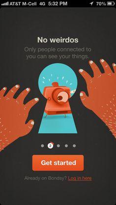 Bondsy iPhone walkthroughs screenshot