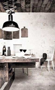 höst restaurant in denmark, designed by norm architects. winner of the restaurant & bar design awards Restaurant Design, Restaurant Bar, Rustic Restaurant, Industrial Restaurant, Bar Design Awards, Design Café, House Design, Interior Design, Design Ideas