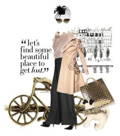 A pug's life by pensivepeacock on Polyvore featuring polyvore fashion style Valentino Metradamo Lanvin Givenchy Pieces STELLA McCARTNEY Louis Vuitton clothing
