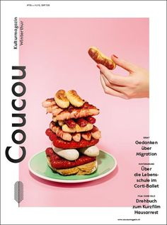 Pinned by my student, Aiko Harashina, who brings a fresh perspective to design and inspirations. Coucou (Switzerland) - Coverjunkie.com