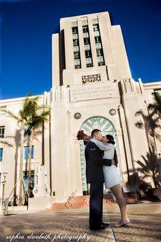 Wedding Photography | City Hall, San Diego, CA Sophia Elizabeth Photography TM…