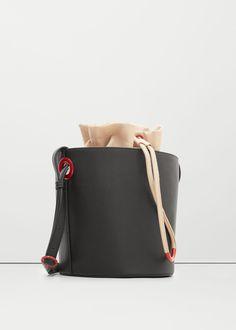 7bb3804358 Bucket bag - Bags for Women   MANGO USA Mango Handbags, Leather Working,  Crossbody