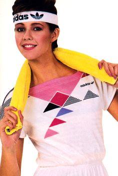 Adidas, 'Teen magazine, April 1985.                                                                                                                                                                                 More
