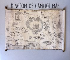 Kingdom of Camelot Map Merlin on BBC Map King Arthur Map of Camelot, City of Camelot Map, Merlin Map Merlin Serie, Fantasy Map Making, Roi Arthur, Merlin And Arthur, Dover Publications, Medieval Times, Old Paper, Paper Dolls, Special Gifts