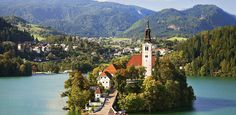 The Safest Countries for Solo Lady Travelers via @PureWow-SLOVENİA
