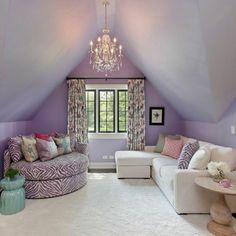 idée déco chambre ado fille de couleur violet