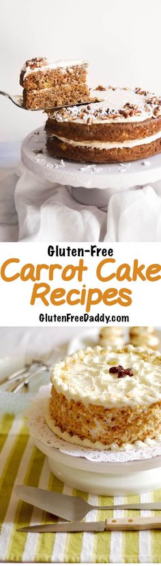 I found 25 of the best gluten-free carrot cake recipes and thought I would share them with you.