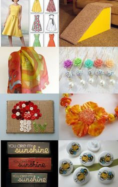 On the Sunny Side by Sadie Bell on Etsy--Pinned with TreasuryPin.com