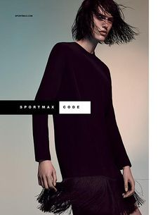 The Essentialist - Fashion Advertising Updated Daily: Sportmax Code Ad Campaign Fall/Winter 2015/2016