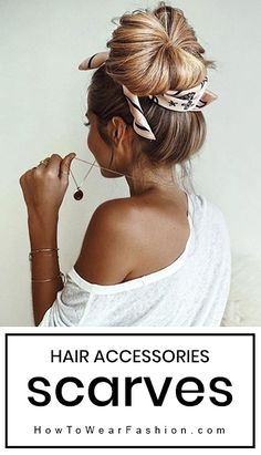 Are you looking for a great Spring Hairstyles for your hair with lovely bangs? You should give an eye to the collection where we have got some lovely and adorable looks only for you. Spring Hairstyles, Scarf Hairstyles, Messy Hairstyles, Pretty Hairstyles, Latest Hairstyles, Bandana Headband Hairstyles, Headband Updo, Amazing Hairstyles, Hairstyles Videos