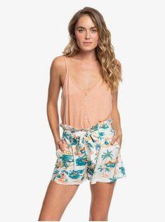 Pantaloncini da Donna Cotone Jersey Estate Spiaggia HOT PANTS Argento Cuore con Strass