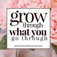 ✨Grow through what you go through✨ . Everything you go through is preparing you for something to come. . Making you stronger, smarter, and sensationally more powerful with every passing day 🦄 . This is something I talk about with