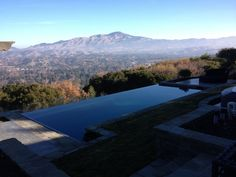Obessed with Infinity pools especially if a breath taking view is involved.
