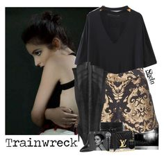 """520->""Trainwreck"" by Banks"" by dimibra ❤ liked on Polyvore featuring Alice + Olivia, Style Charles by Charles David, IRO and Alexander McQueen"