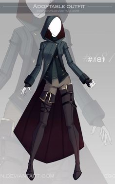 [CLOSED-Auction] Adoptable outfit #181 by Eggperon on DeviantArt