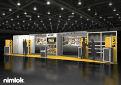 Nimlok has designed and built trade show displays for over 40 years. For Adcor we built a large scale booth solution to meet their marketing needs.