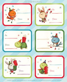 Mini tags de natal para imprimir   Pra Gente Miúda