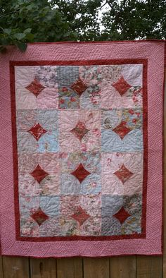 10 minute block Thread Tales from a Scrappy Quilter