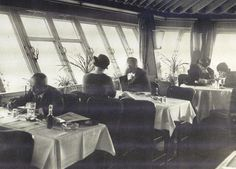 Berlin, Funkturmrestaurant, Messedamm 11, 1937.