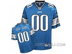 http://www.jordanaj.com/customized-detroit-lions-jersey-eqt-blue-team-color-football.html CUSTOMIZED DETROIT LIONS JERSEY EQT BLUE TEAM COLOR FOOTBALL Only $60.00 , Free Shipping!