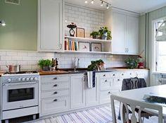 płytki kafelki białe ala metro w kuchni