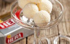 Kokosové kuličky » Pečení je radost