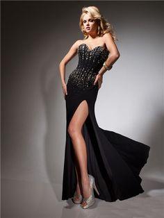 hemsandsleeves.com long black dresses (21) #cutedresses