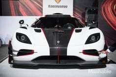 New Koenigsegg one:one, seen at the NY Auto Show