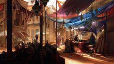 Fantasy City, Fantasy Places, Fantasy World, Fantasy Setting, Illustration, Environment Concept Art, Medieval Fantasy, Medieval Music, Fantasy Inspiration