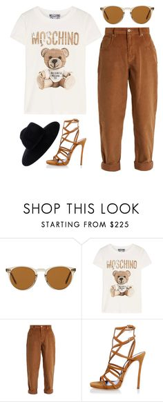 """talking about the fall"" by stereocristiana on Polyvore featuring Oliver Peoples, Moschino, Miu Miu and Dsquared2"