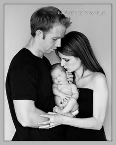 Family newborn photo