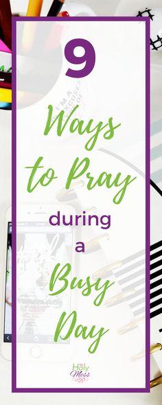 9 Ways to Pray Durin