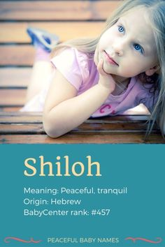 """23 beautiful baby names meaning """"peace"""" 
