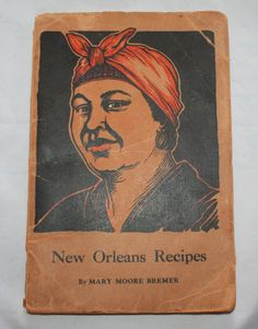 Vintage Cookbook New Orleans Recipes by Mary by ilovevintagestuff