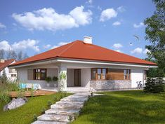 DOM.PL™ - Projekt domu MT Decyma CE - DOM MS2-37 - gotowy koszt budowy Dom, House Plans, Outdoor Decor, Home Decor, Decoration Home, Room Decor, House Floor Plans, Home Interior Design, Home Decoration